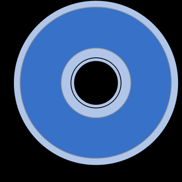 CD vector drawing