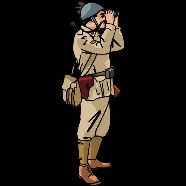 WW2 Italian soldier