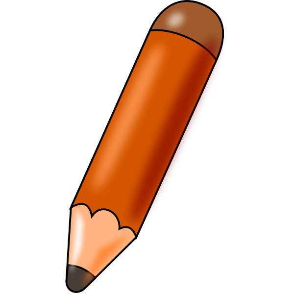 Glossy pencil