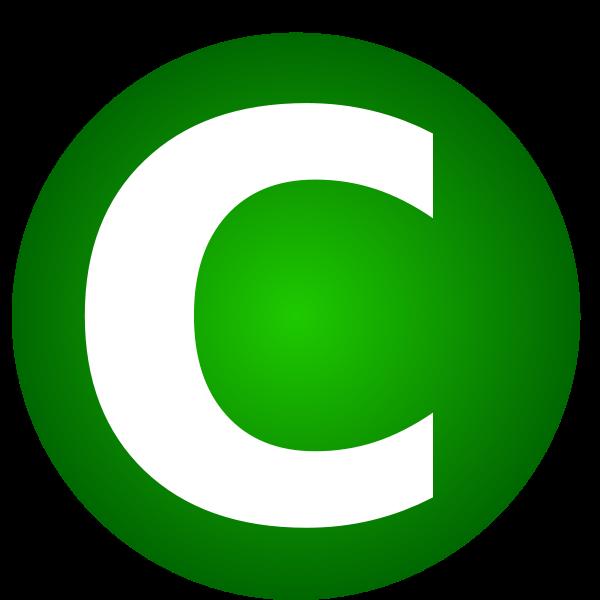 C letter smybol