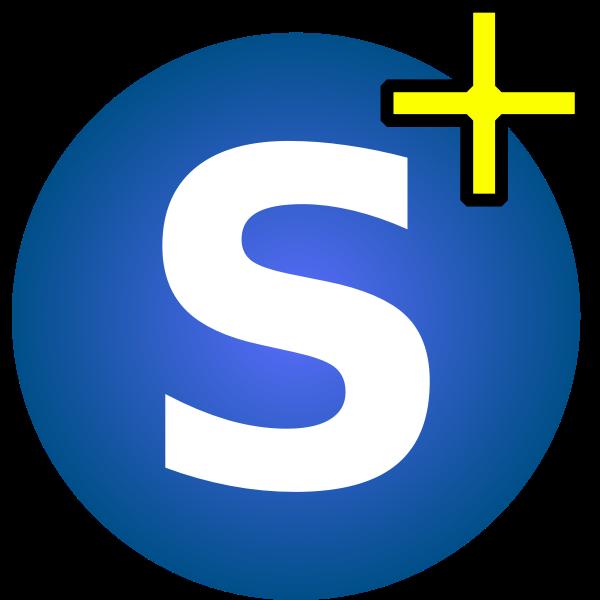 S vector icon