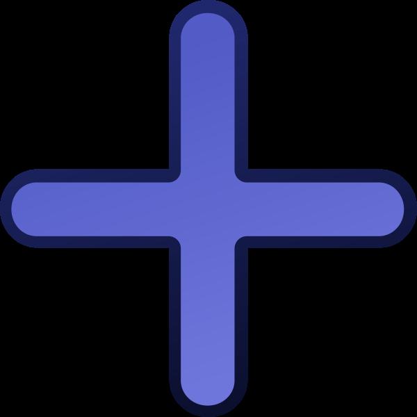 Christian cross vector clip art