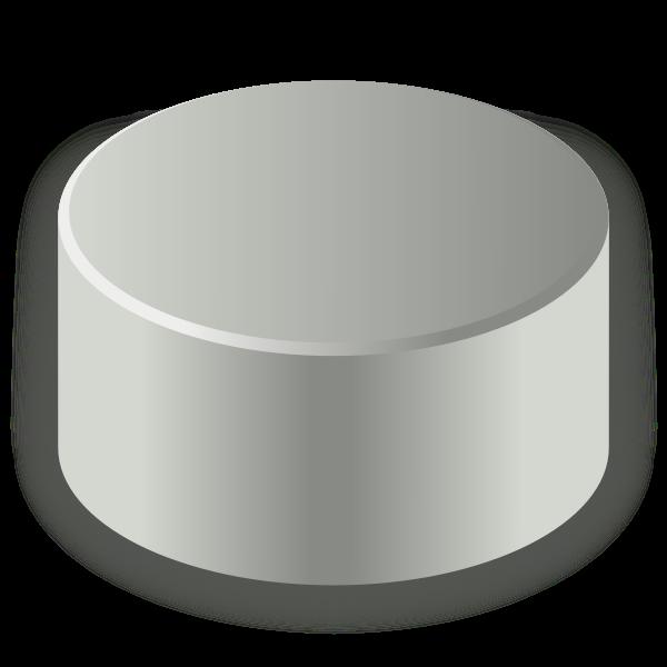 Disk drive capacity vector drawing