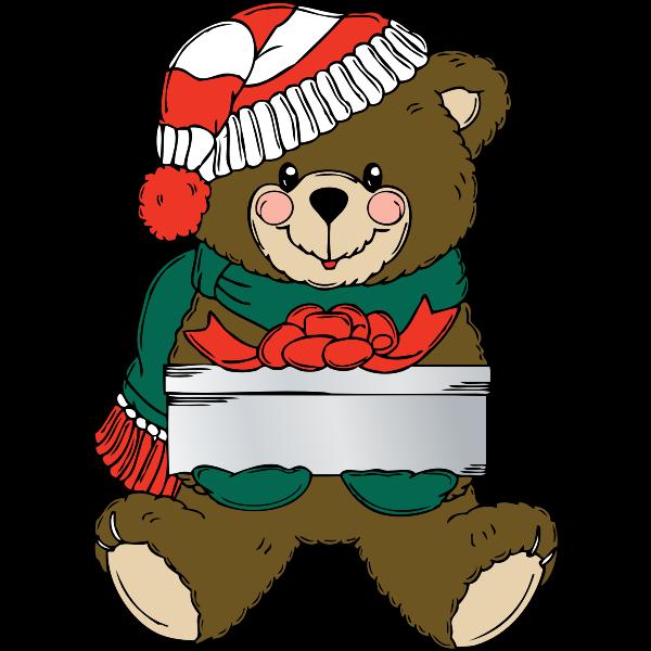Christmas Bear wih present