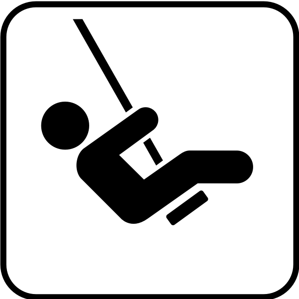 US National Park Maps pictogram for a playground vector image