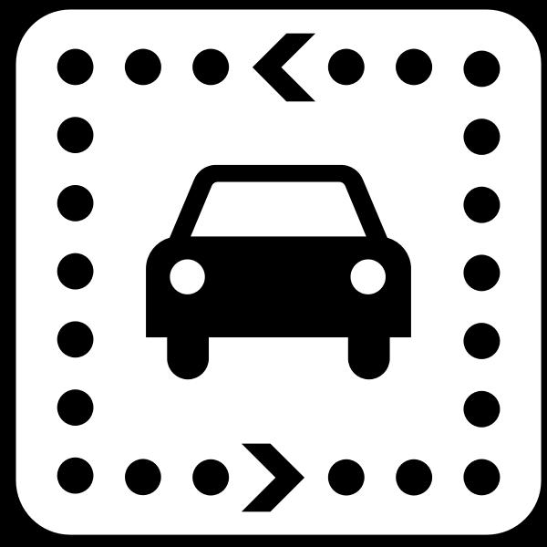 US National Park Maps pictogram fora driving tour vector image