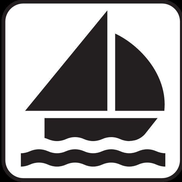 Sailing pictograph