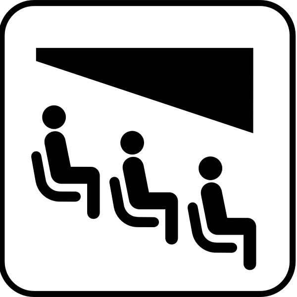 US National Park Maps pictogram for a theater vector image