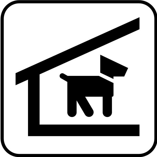 US National Park Maps pictogram for a pet shelter vector image
