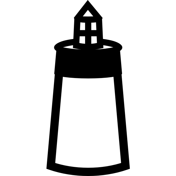 US National Park Maps pictogram for a lighthouse vector image