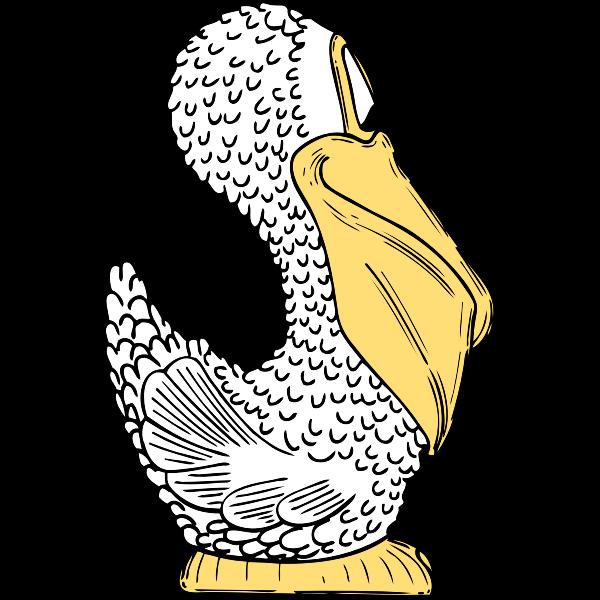 pelican side view