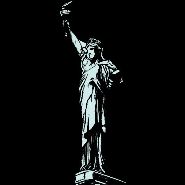Statue of Liberty vector clip art