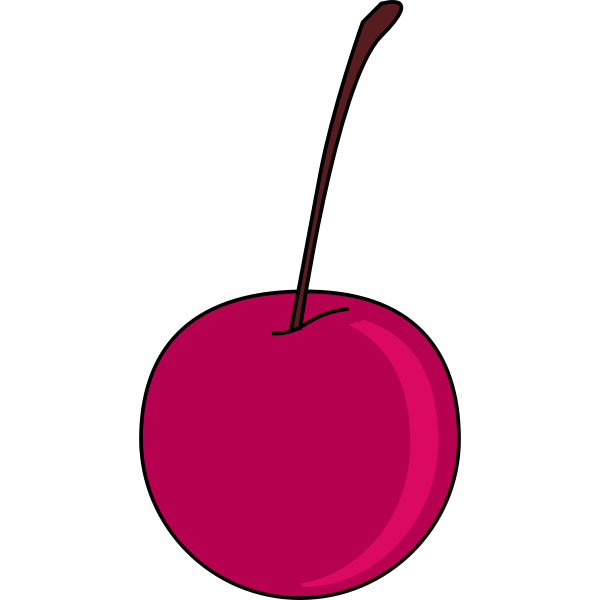 Cherry vector clip art