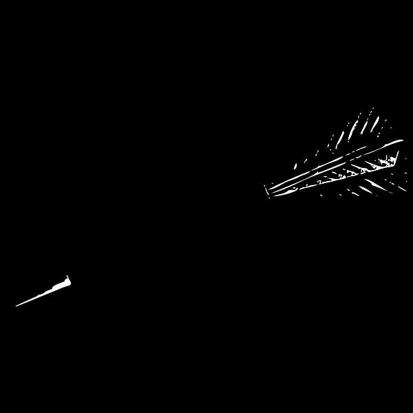 Dart vector clip art