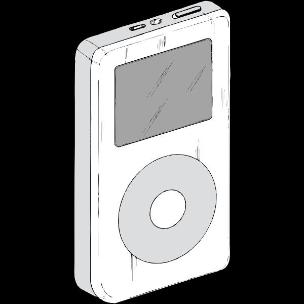 iPod vector image