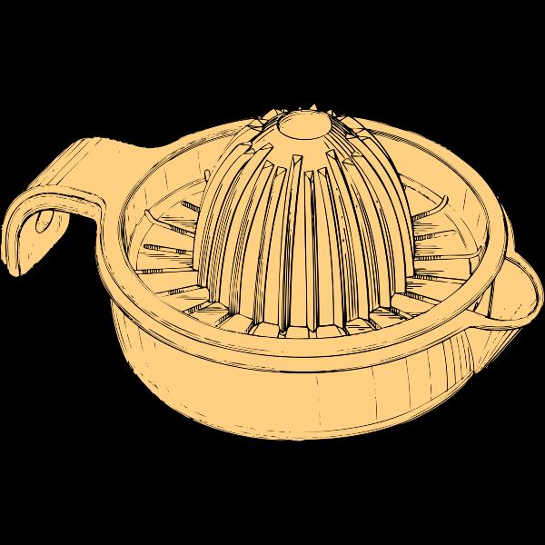 Plastic juicer vector image