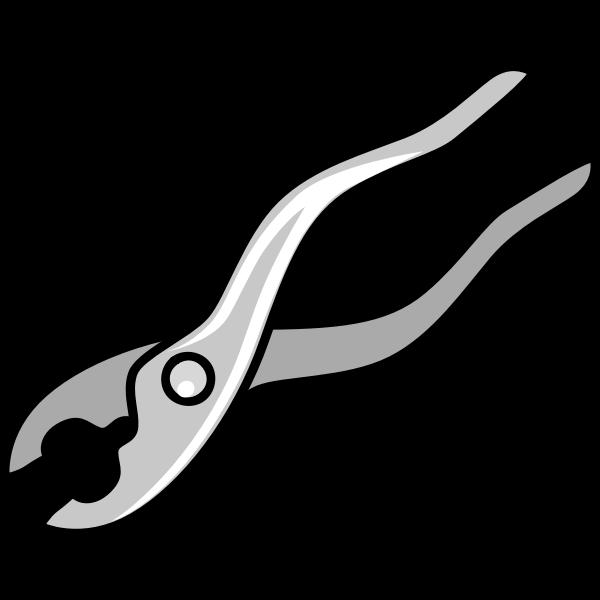 Pliers vector image