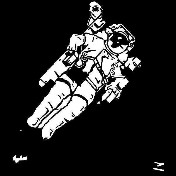 Spacewalk vector image