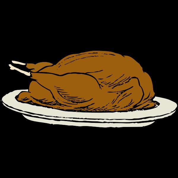 Vector graphics of turkey