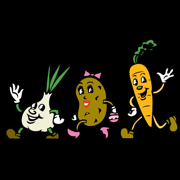 Veggies vector image