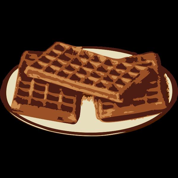 Waffles vector graphics