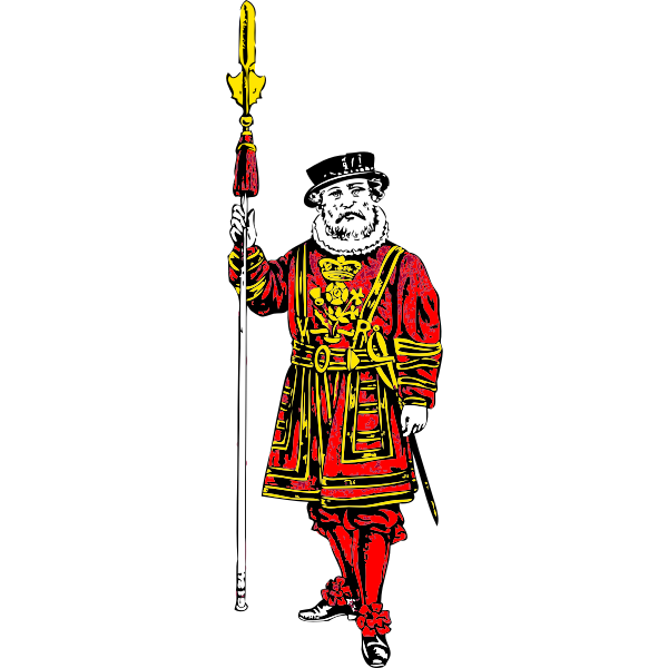 Guard vector graphics