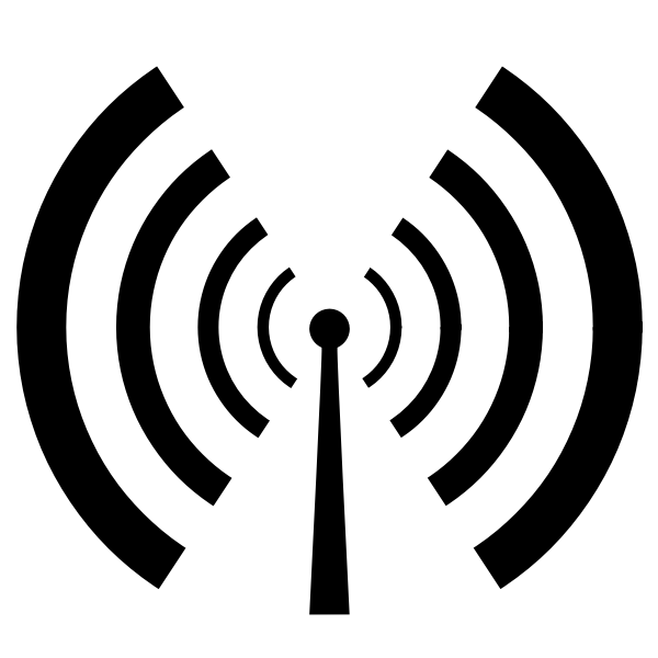 Wireless signal reception vector sign