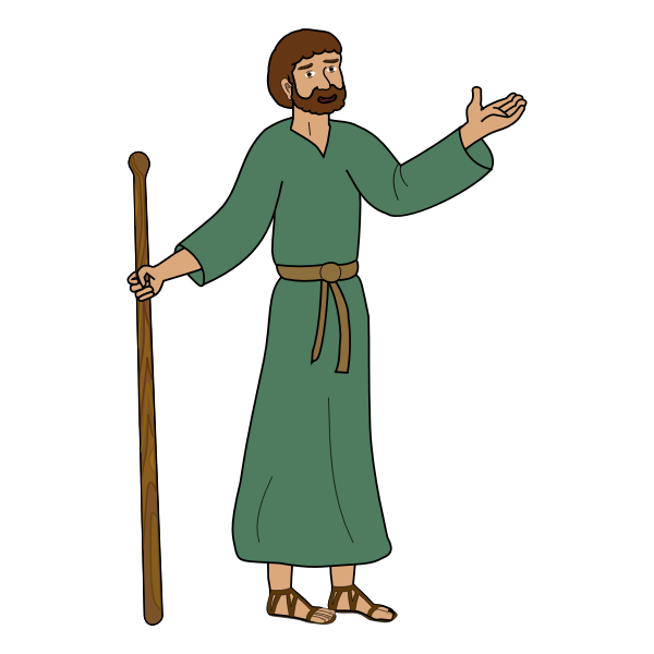 Paul of Tarsus vector graphics