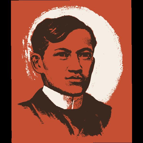 Jose Rizal vector portrait