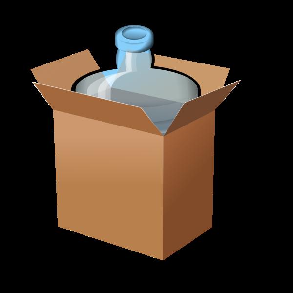 Jug in box