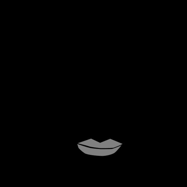 Asian man portrait vector image
