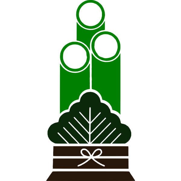 Kadomatsu vector illustration