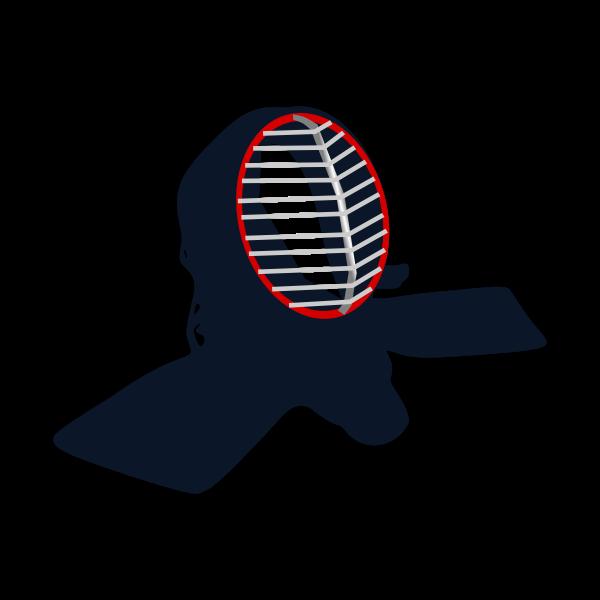 Kendo bogu vector image