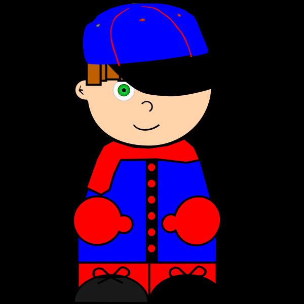 Kid and cap