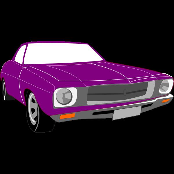 Vector clip art of Holden Kingswood car