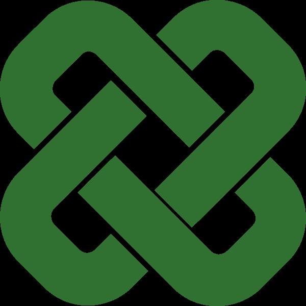 Vector clip art of modern Celtic knot