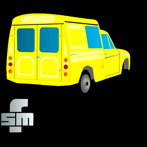 Syrena 105 B Vector Image