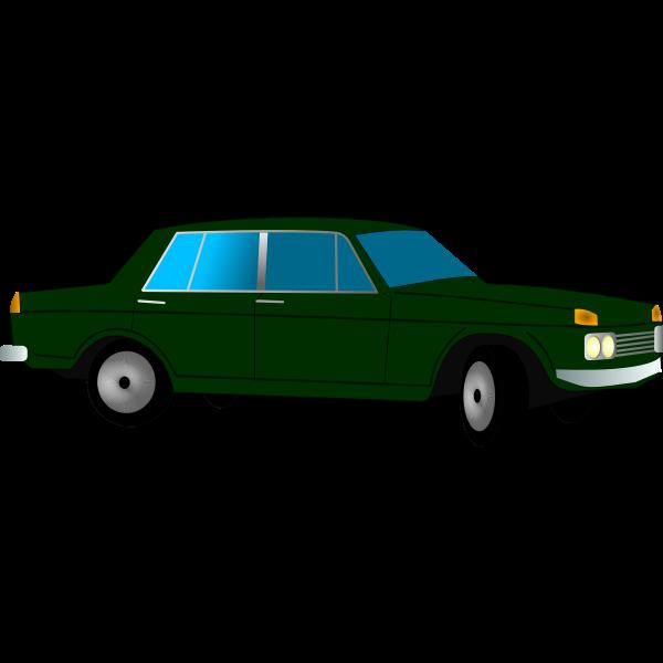 Warszawa 210 car vector