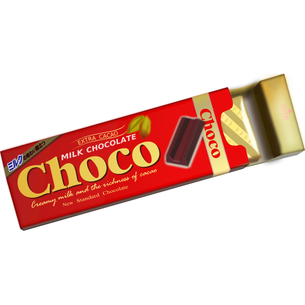 Milk chocolate image