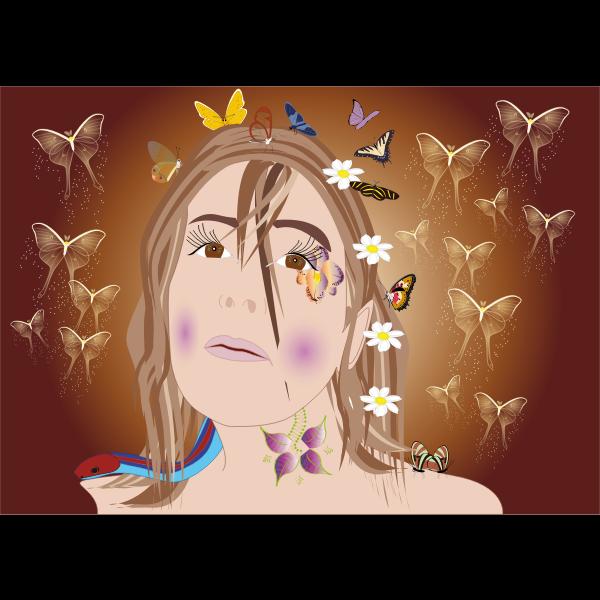 la fee Linda des papillons