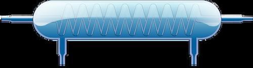 Laboratory spiral cooler