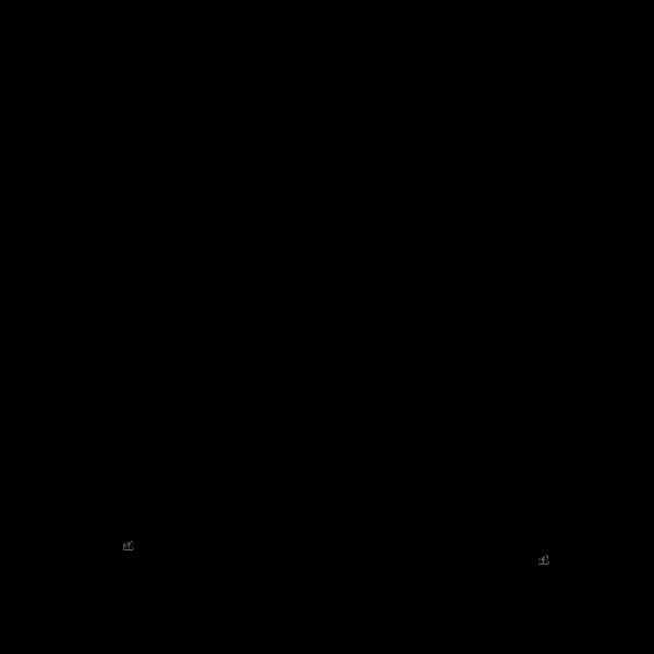 Digital computer circuit vector drawing