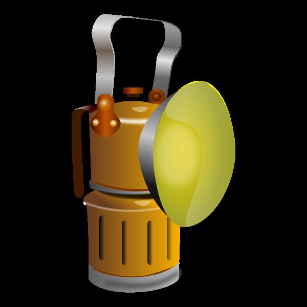 Miner lamp, Lámpara de minero