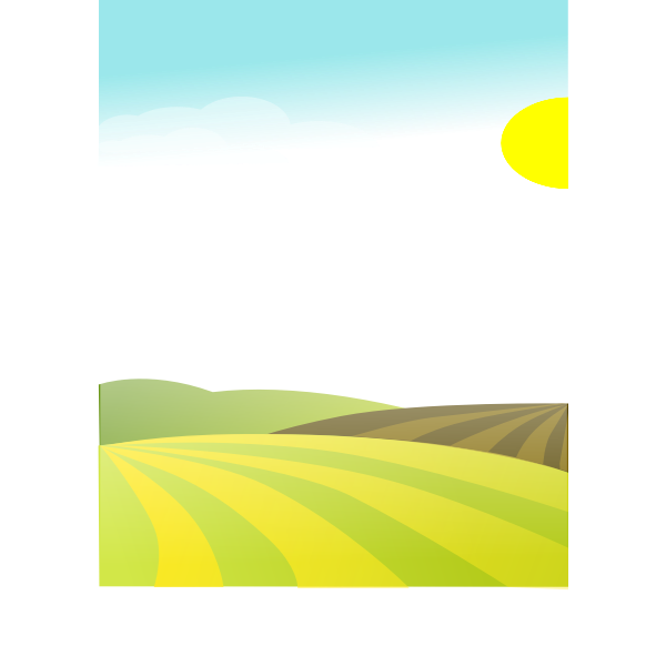 Landscape vector graphics