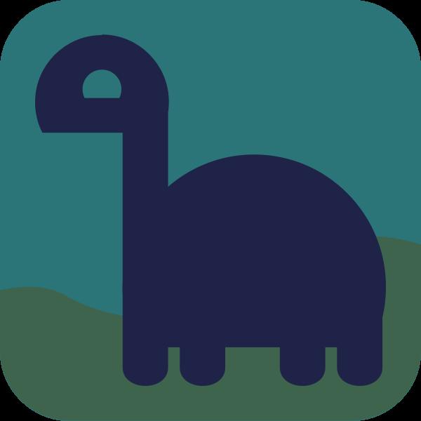 Last Dino avatar vector image