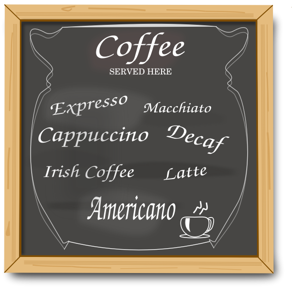 Coffee board