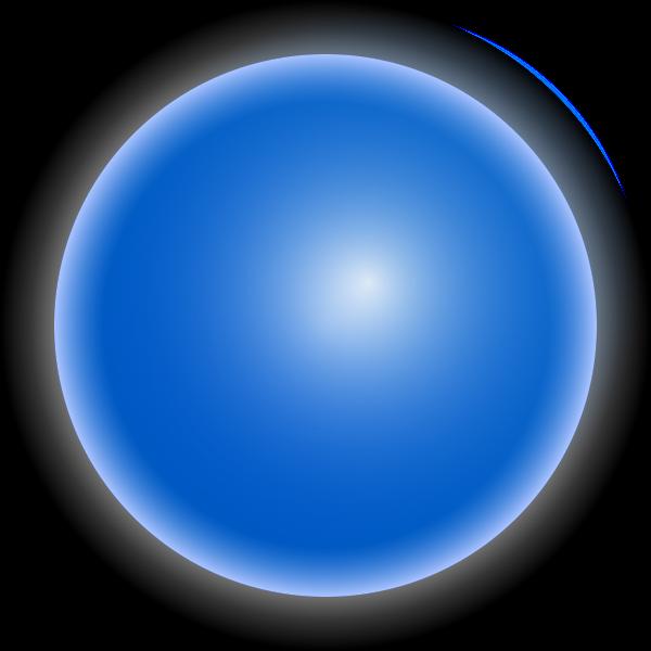 Blue LED light