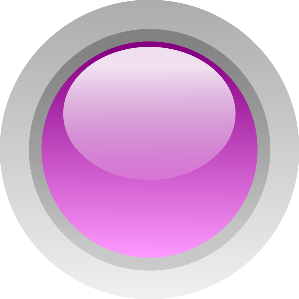 Finger size purple button vector illustration