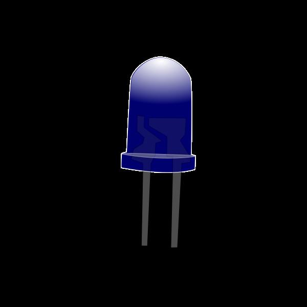 Blue LED Lamp (Off)