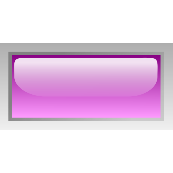 Rectangular shiny purple box vector illustration
